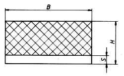 gummi metall schienen. Black Bedroom Furniture Sets. Home Design Ideas