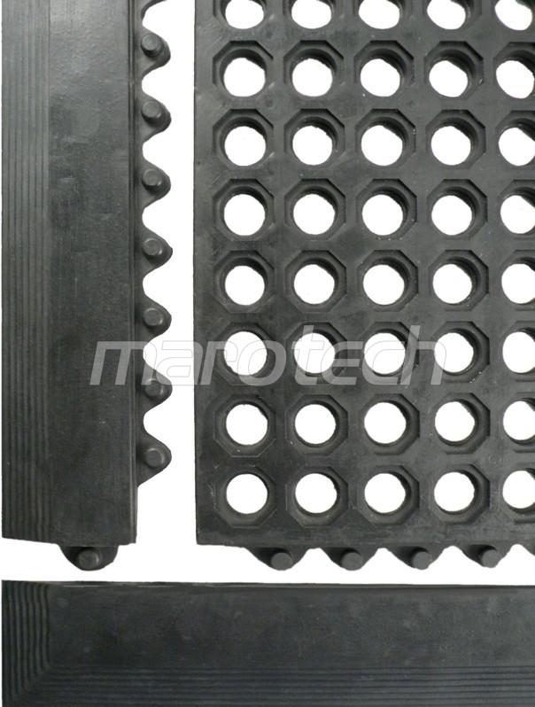 ringgummimatte mit stecksystem arbeitsplatzmatten. Black Bedroom Furniture Sets. Home Design Ideas