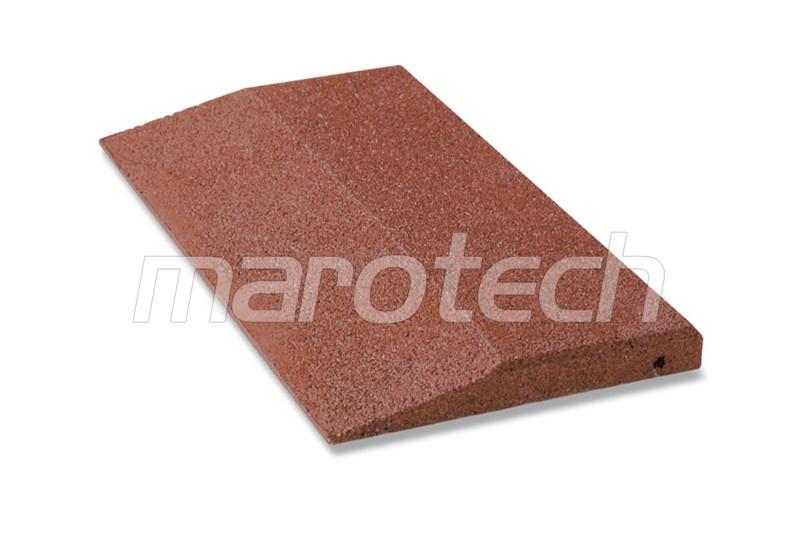 fallschutzplatte 500 x 250 mm halbe einseitig abgeschr gt 45mm fallh he bis 1 50m. Black Bedroom Furniture Sets. Home Design Ideas